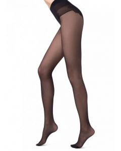 Bikini 40 den - sheer comfortable tights with a beautifully finished bikini bottom BellaConte