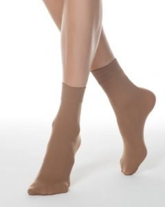Elegant socks 50 den_microfibra_BellaConte_Natural