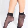 TENSION SOFT elegant socks with Vitamin E Black BellaConte