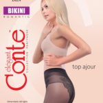 sheer comfortable tights with a beautifully finished bikini bottom BellaConte