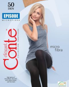 "OPAQUE SOFT MAT WARM MICROFIBRA TIGHTS ""EPISODE 50 DEN"" BellaConte"