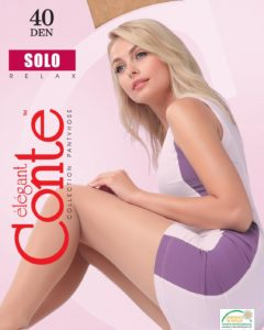 SOLO 40 DEN - Dense elegant and feminine tights. BellaConte