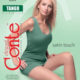 TANGO 40 DEN sturdy 40 denier basic tights with a subtle pearl luster BellaConte