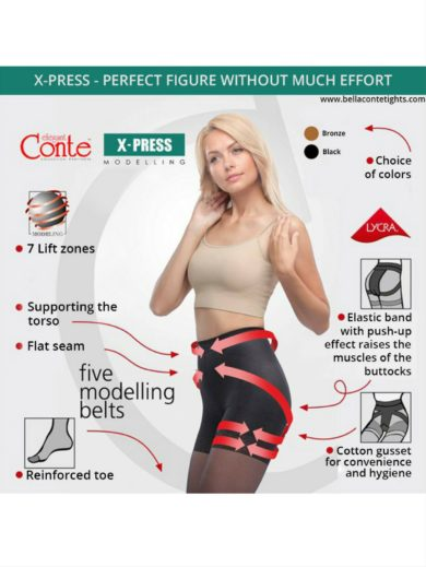 X-PRESS SHAPING SHORTS BellaConte