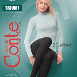 soft, comfortable tights for winter Triumf 220 den BellaConte