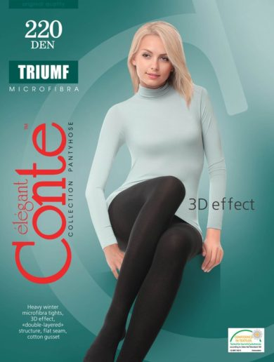 "WARM WINTER MICROFIBRA TIGHTS ""TRIUMF"" 220 den BellaConte"