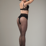 "STELLA – fantasy tights with ""backside seam imitation"" BellaConte"