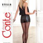 STELLA -Thin elastic fantasy 20 den tights BellaConte