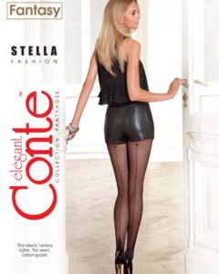 STELLA -Thin elastic fantasy 20 den tights BellaConte