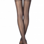 fishnet tights with a small fishnet effect and back side seam _BellaConte