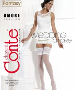 AMORE 20 DEN BRIDAL HOLD-UPS