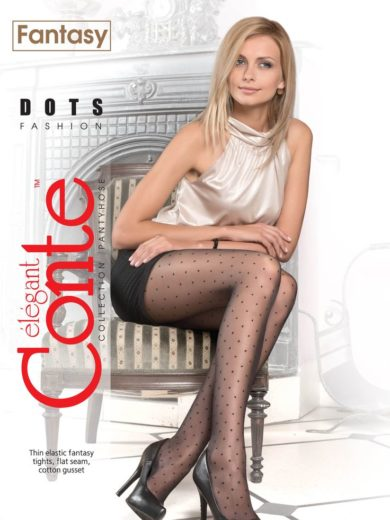 "Fashion polka dotted tights ""DOTS""BellaConte"