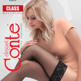 HOLD-UPS CLASS 20 DEN with a wide elastic band BellaConte