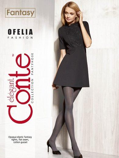 OFELIA - 50 den melange fantasy fashion tights (pantyhose) BellaConte