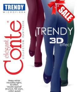 TRENDY 150 DEN WARM TIGHTS
