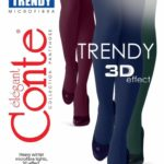 "WARM FASHION TIGHTS ""TRENDY"" 150 DEN BellaConte"