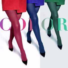 """Trendy"" - warm fashion pantyhose BellaConte"