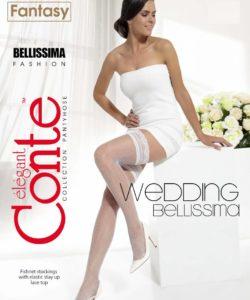 BELLISSIMA 20 DEN BRIDAL HOLD-UPS