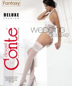 DELUXE 20 DEN BRIDAL HOLD-UPS