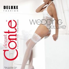 DELUXE luxury stockings for a bride with a very romantic look BellaConte