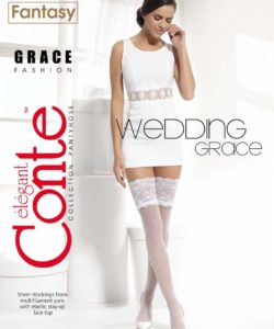 GRACE 20 DEN BRIDAL HOLD-UPS