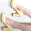Fashion socks Sheer Glitter STAR&MOON Pink BellaConte