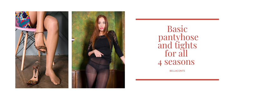 Basic pantyhose and tights for all 4 seasons_BellaConte